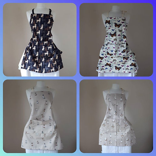 Adult aprons - various designs