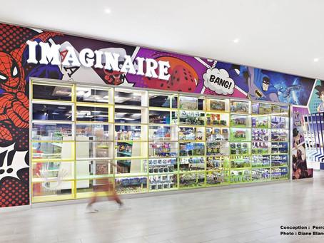 La boutique l'Imaginaire à l'international