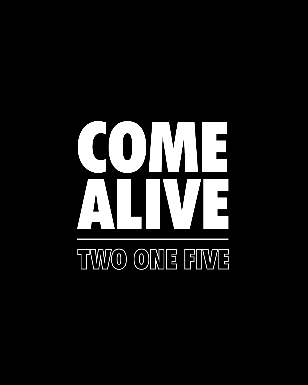 Come Alive 215 Outdoor Bootcamp