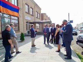 Esteemed Guests from the United States and Armenia