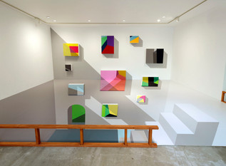 New works of Iku Harada : NEW DIMENSIONS.