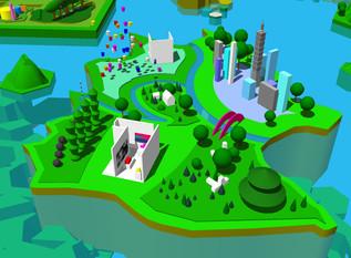 Neo Taipei City in my imagination.