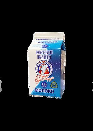 Молоко питьевое пастеризованное, 2,5%