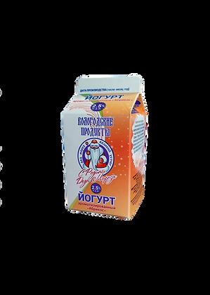 "Йогурт 2,5% ароматизированный""Абрикос"""