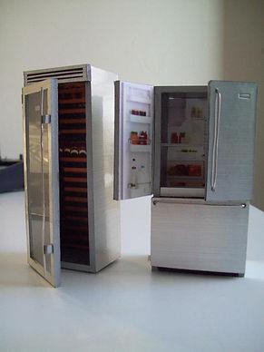 Refrigerator Scale Model