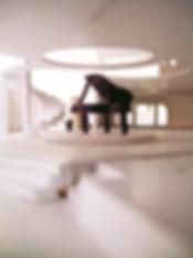 Interior and Piano Scale Model