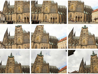Photomerging tool in Photoshop