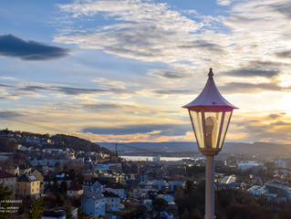 Photo gallery: Dreamy sunset Oslo