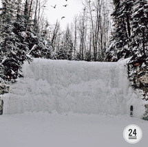 Fort McMurray secret waterfall