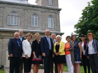 Le gouvernement Harper reconnaît l'importance historique nationale de l'église de Saint-Eust