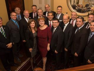 Rencontre avec le caucus du Québec