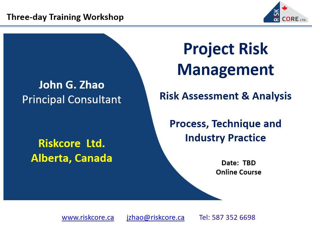 Project Risk Management Training