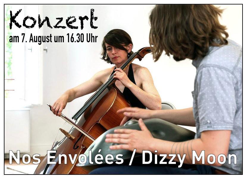 Dizzy Moon / Nos envolées