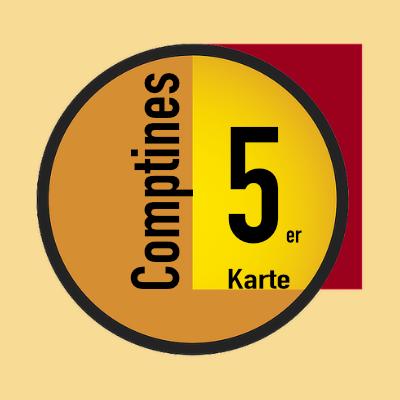 Les Comptines 5er Karte