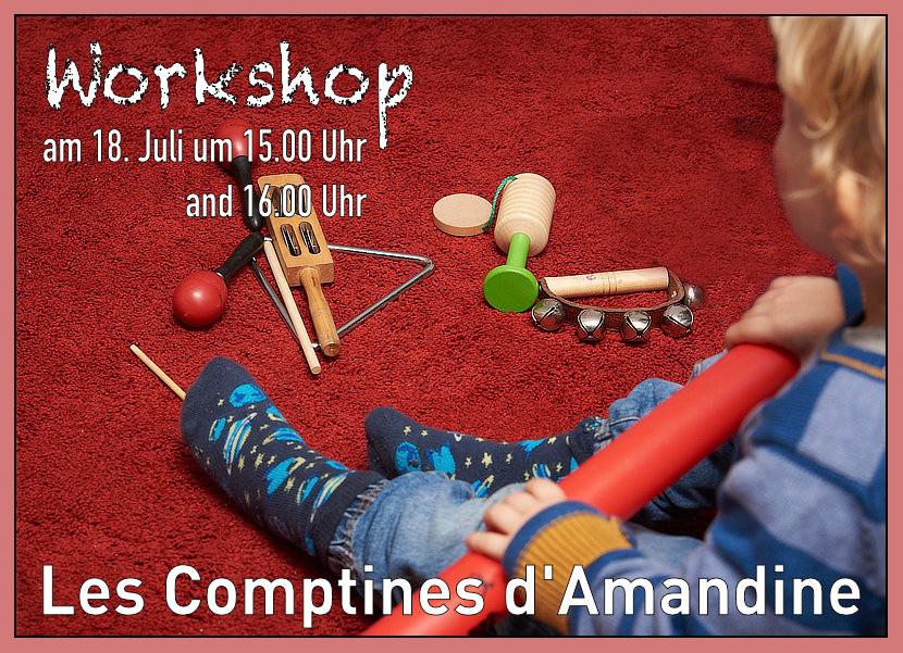 Comptines d'Amandine