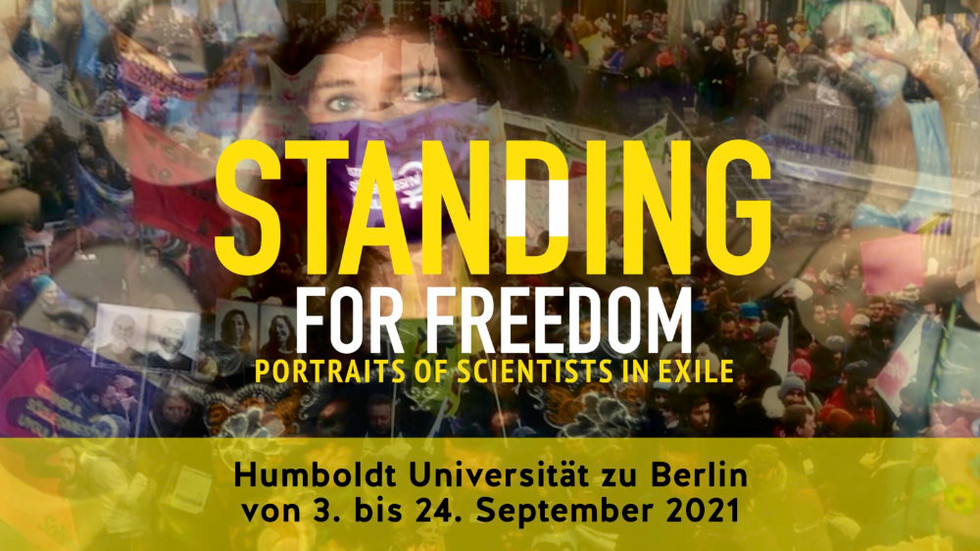 Standing for Freedom - Exposition Photo