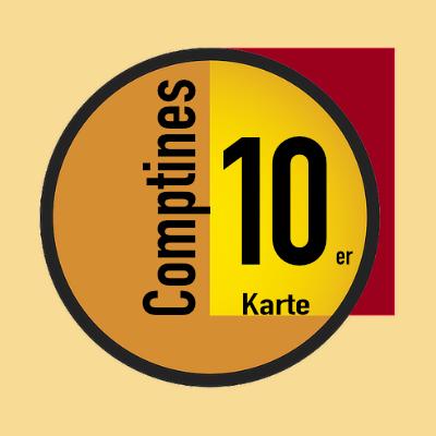 Les Comptines 10er Karte