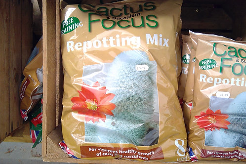 Cactus & Succulent Repotting mix 8ltrs