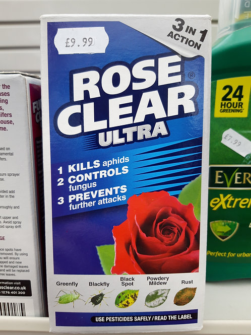 Rose Clear Ultra 200ml to mix