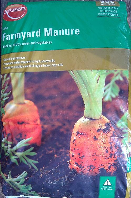 Farmyard Manure 50Ltr