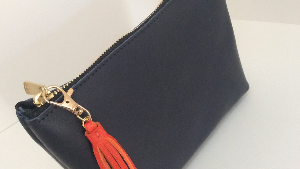 Two Tone Pouch Bag