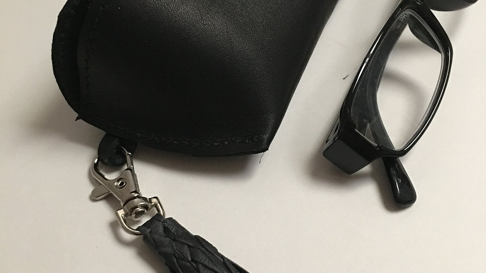 Leather Glasses Cases With Press Stud