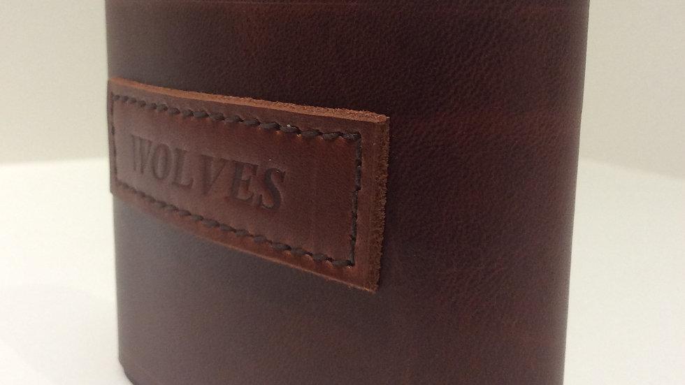 Leather Bound Hip Flasks