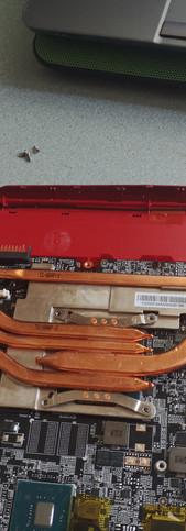 MSI sülearvuti aku lahutamine Отсоединение батареи ноутбука MSI Disconnecting MSI Laptop Battery