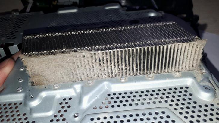 PS4 jahutusradiaator  Радиатор PS4  PS4 heatsink