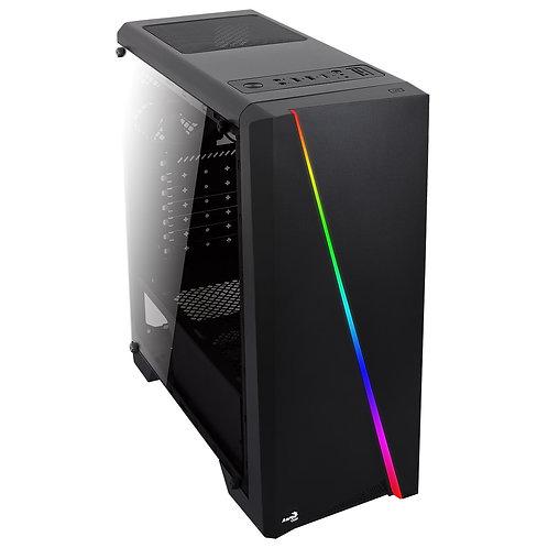 INTEL CORE I5-9500F, 8GB, SSD240GB, HDD 2TB, NVIDIA GEFORCE GTX 1070 8GB, 600W M