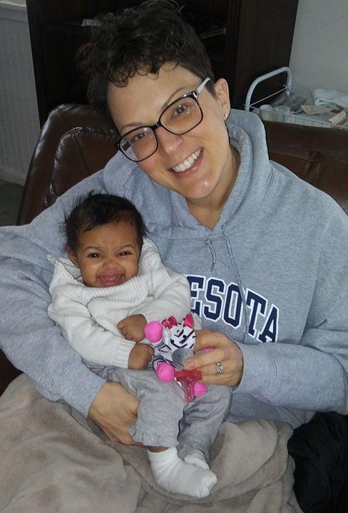 Yessss!!!! I got to meet my new niece today!!! Auntie LOVES you ZARA!!!
