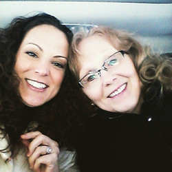 Beauty queens and best friends (my mommy)