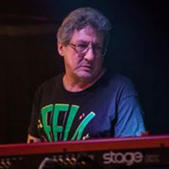 Norman Frizzell,keyboardist of of The Full 100 Band