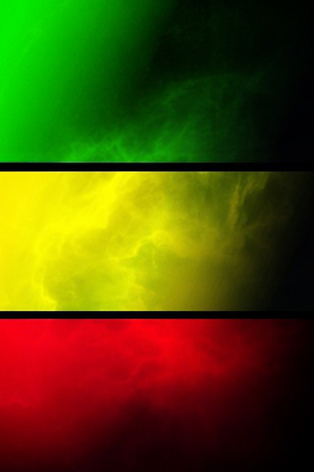 Reggae music colour wallpaper