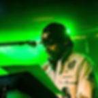 Garth Grey,keyboardist of of The Full 100 Band