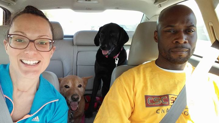 Family photo_ dog park edition