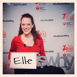 #gorediswhy at the #goredluncheon
