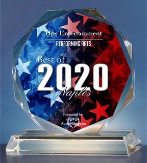 HPS ENTERTAINMENT RECEIVES THE 2020 BEST OF NAPLES AWARD!