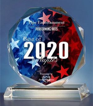 HPS ENTERTAINMENT RECEIVES THE 2020 BEST OF NAPLES AWARD!
