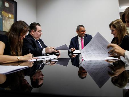 ESMAM, DPE e PGE firmam convênio para realização de cursos e o primeiro será sobre a judicialização