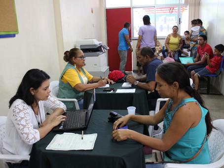 Atendimento itinerante da Defensoria Pública beneficia moradores do bairro Santo Antônio, em Manaus