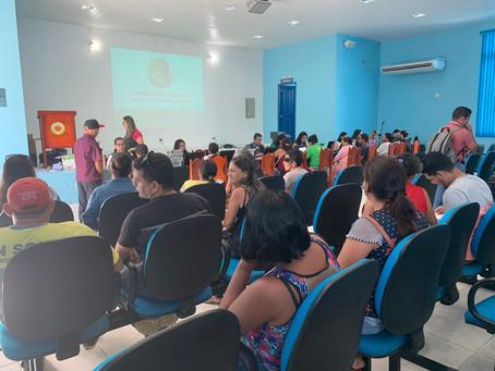 População de Tabatinga recebe mutirão de atendimento da Defensoria Pública