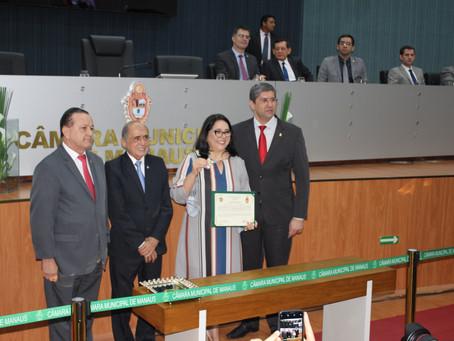 Defensoria prestigia homenagem à procuradora-geral do Ministério Público do Estado