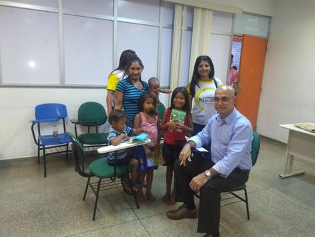Defensoria orienta famílias em evento do Dia Mundial de Combate ao Trabalho Infantil