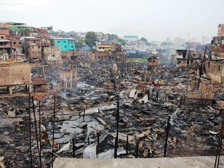 Defensoria toma medidas para solução de moradia às vítimas do incêndio no Educandos