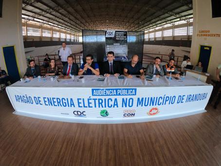 Força-Tarefa cobra indenização de R$ 58,7 milhões contra Amazonas Energia por apagão em Iranduba e M