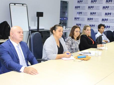 Defensoria Pública participa de reunião no MPF sobre acolhimento a imigrantes