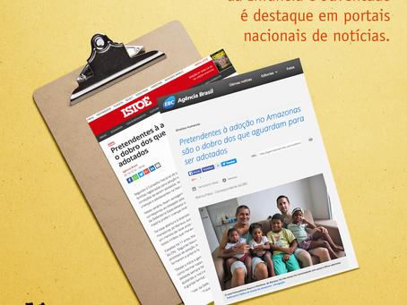 Defensoria Especializada da Infância e Juventude da DPE-AM é destaque em portais nacionais de notíci