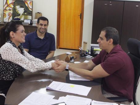 Defensor geral recebe deputada Alessandra Campêlo para agradecer por emendas ao orçamento destinadas