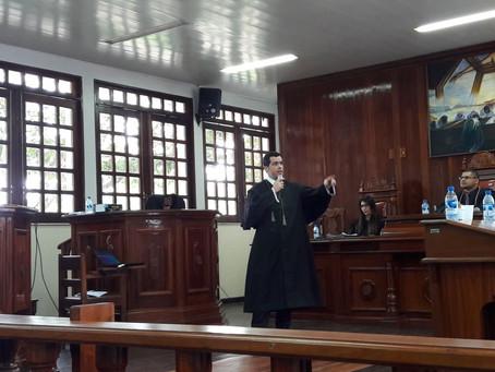 Defensoria atua em série de julgamentos na 1ª Vara de Execuções Penais do município de Parintins